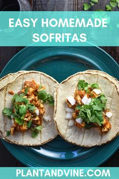 Homemade vegan tofu sofritas, inspired by Chipotle! Deliciously spicy tofu for your favorite bowls and burritos! Vegan Mexican Recipes, Vegetarian Mexican, Vegan Lunch Recipes, Vegan Dinners, Ethnic Recipes, Vegetarian Burrito, Vegan Vegetarian, Vegan Food, Easy Main Course Recipes