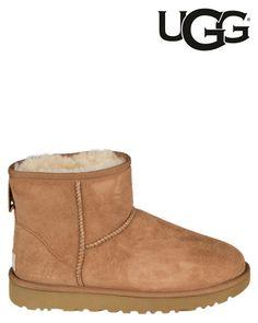 UGG   Classic Mini   Ankle boots   Cognac   MONFRANCE Webshop