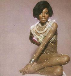 Diana Ross in glitter