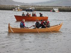 Back in December a bunch of proud Boat Building Academy class members launched a clinker built Norwegian faering built to Iain Oughtred's Elfyn plans. The boat was was built by student Neil H…