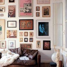 Decorating with Framed Artwork for Living Room