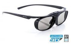 "Hi-SHOCK® 3D-RF PRO ""BLACK HEAVEN"" - RF 3D Brille für EPSON / JVC / XPAND / SONY"