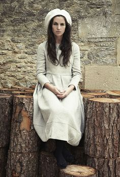 The mood of this collection and the photography of it reminds me of the 2011 film Jane Eyre. C&R - Autumn Winter 2013