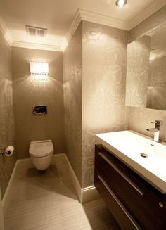 Commercial Wharf - modern - bathroom - boston - Melissa Miranda Interior Design