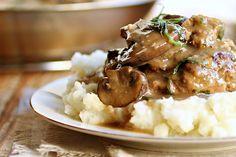 Salisbury Steak recipe with Mushroom Gravy!