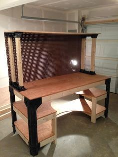 2x4 basics workbench painted - Google Search                                                                                                                                                     More