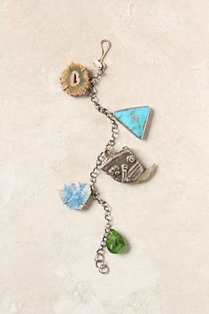 Vintage Claw & Kinoite Bracelet ($1,328.). made of recycled materials. one of a kind.