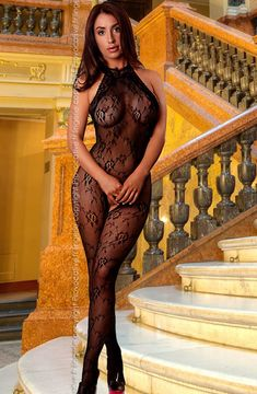 Looking for Provocative BodyStocking in Black - Then Ennia Lingerie Online who specialise in sexy lingerie, womens underwear and bridal lingerie is your first choice for Provocative BodyStocking in Black - Risque Lingerie, Lingerie Uk, Designer Lingerie, Bridal Lingerie, Stockings Lingerie, Sexy Stockings, European Lingerie, Dress With Stockings, Corporate Outfits