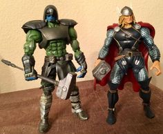 Ronan custom action figure from the Marvel Legends series using ML BAF Terrax as the base, created by L&A's Customs. Marvel Villains, Marvel Movies, John Duncan, Plastic Art, Marvel Legends Series, Custom Action Figures, Sideshow Collectibles, Disney Marvel, Figure Model