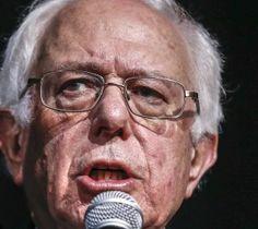 Bernie Sanders speaks in Des Moines, Iowa, on Thursday. EPA/TANNEN MAURY