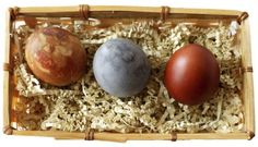 Dyeing Eggs Naturally- another list by color