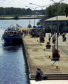River port - Joensuu, Eastern Finland