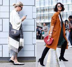 The best it-bags spotted on the street at London Fashion Week - Telegraph