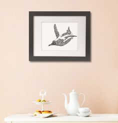 Art print_drawing_animal_handmade  by JameslimARTstudio on Etsy