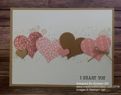 St.Valentine quick and easy card