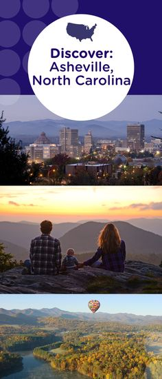 From hiking and zip lining to craft beer and southern cuisine, try it all when you visit Asheville, North Carolina.