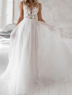 Covered Button Lace Appliques Wedding Dresses - - Lace Appliques Wedding Dresses – Bohemian Wedding Dress – Bridelily Source by Backless Wedding Dress With Sleeves, Wedding Dresses Under 100, Lace Wedding Dress With Sleeves, Affordable Wedding Dresses, Applique Wedding Dress, White Wedding Dresses, Cheap Wedding Dress, Romantic Bohemian Wedding Dresses, Boho Wedding