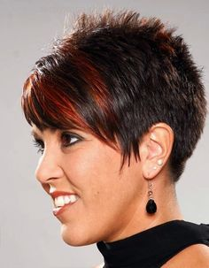 Pixie Hairstyles Entrancing Pixie Haircuts For Women With Thick Hair  My Style  Pinterest