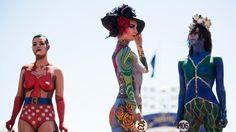 Body artists pull in crowds   Stuff.co.nz