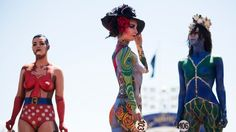 Body artists pull in crowds | Stuff.co.nz