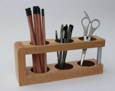 wooden stationery modern - Google Search