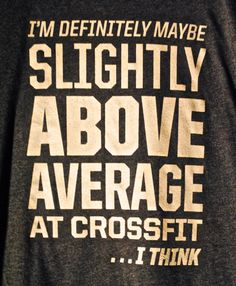Free shipping  CrossFit WOD tshirt  I'm by SandDCrossFit on Etsy, $20.00