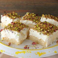 Greek Sweets, Greek Desserts, Greek Recipes, Greek Pastries, The Kitchen Food Network, Cold Deserts, Food Network Recipes, Food Art, Chocolate Cake