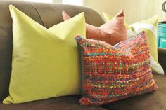 Moroccan Pillow Cover Red Orange Blue Teal Purple by MotifPillows