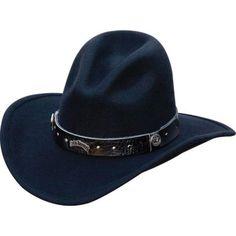 22268197d87 Jack Daniel s JD03-111 Cowboy Hat - Black Hats