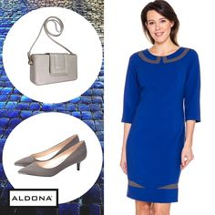 #aldona #fashion #aw2016 #fw2016 #outfit #inspirations #royalblue #dress