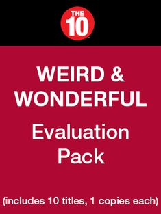 Weird & Wonderful Evaluation Pack (includes 10 titles, 1 copy each) - Rubicon Publishing Inc. Essential Questions, Content Area, Art Curriculum, Weird And Wonderful, Romances, Modern Buildings, Critical Thinking, Comprehension, Social Studies