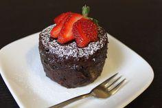 Forks over knives-chocolate mug cake vegan
