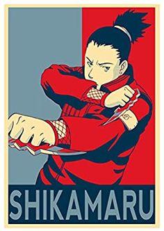 Instabuy Poster Naruto Propaganda Shikamaru - A3 (42x30 cm)