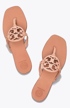 23bc03f5a Tory Burch Miller Square-Toe Sandal Tory Burch Sandals