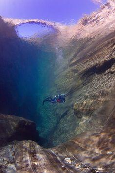 river diving...so lovely!
