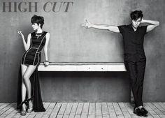 Han Hyo Joo keeps Jung Woo Sung's lips sealed for 'High Cut'   allkpop.com
