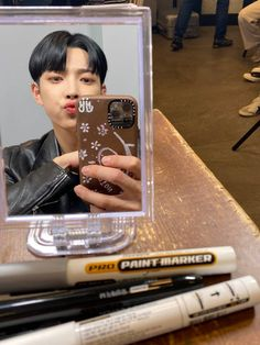 Mirror Pic, Happy Pills, Phone Icon, Kim Hongjoong, Twitter Update, Extended Play, A Team, The Man, Singer