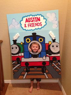 Thomas the Train  Photo Party Cut-Out Prop Standee on Etsy, $120.00