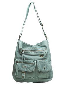 Double Pocket Hobo Bag | Wet Seal