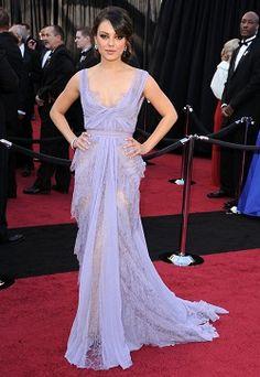 I loooove this dress - lavendar Elie Saab