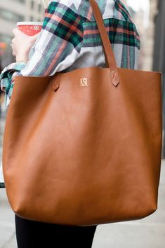 Love the color & over the shoulder length straps. Might be a tad large, but I want/need a big bag. :)