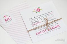 Hääkutsut » Makea Design // Graafinen suunnittelu / Wedding invitation / bröllopsinbjudan Unique Invitations, Wedding Invitations, Wedding Stationery, Place Card Holders, Party, Vintage, Design, Wedding Invitation Cards