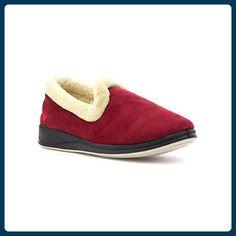 Padders Damen Rot Geschlossener Pantoffel - Größe 9 UK / 43 EU - Rot - Hausschuhe für frauen (*Partner-Link)