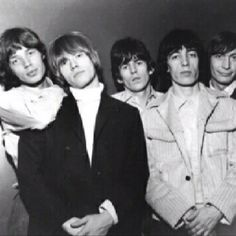 Rolling Stones- first heard them on my mom's old 45s