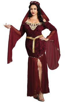 cool Dreamgirl 9842X Plus Size Medieval Enchantress Womens Costume