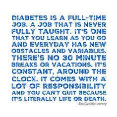 TYPE 1 DIABETES #diabetestype1 #DiabetesCureKids