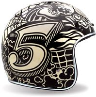 if you gotta wear a helmet (by law, i don't, but i do cause, i like my brains on the inside of my head) wear a cool one
