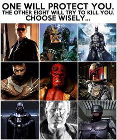 Ok let's talk about the logically, batman could take most of theses guys AT ONCE! If the all attack together his hide is cooked and mine is next. Also what's he gonna do about wolverine, and Vader can use the force! For these reasons I must pick Darth Vader!