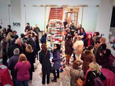 Inauguración de la expo SOS Eugenio Ampudia. (30/01/2014).