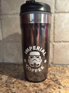 Storm troopers Starbucks cup - cut on a Cricut